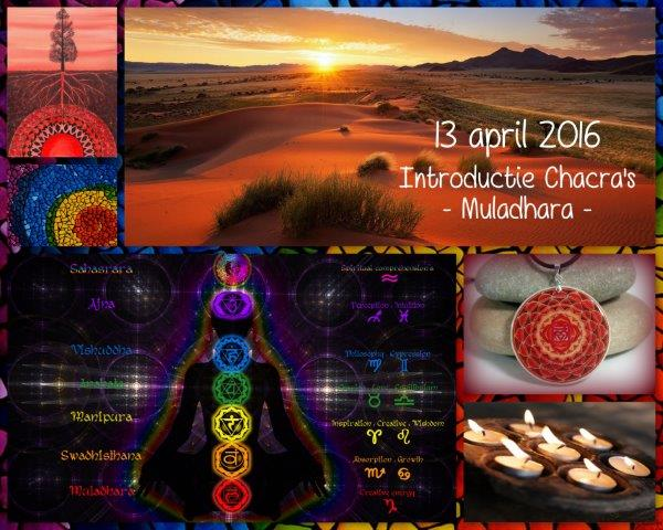 Workshops - Introductie Chacra's Muladhara